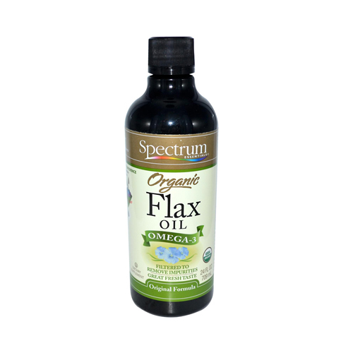 Spectrum Essentials Organic Flax Oil (24 fl Oz)