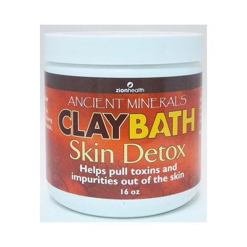 Zion Health Claybath Skin Detox 16 Oz