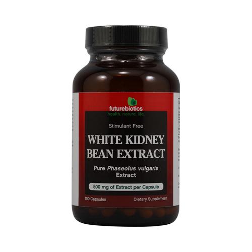 FutureBiotics White Kidney Bean Extract 500 mg (100 Capsules)