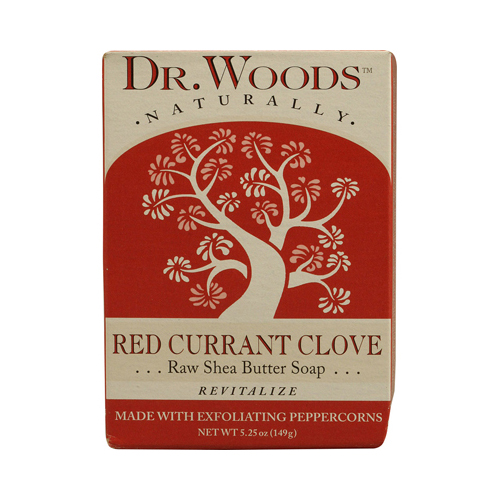 Dr. Woods Bar Soap Red Currant Clove (1x5.25 Oz)