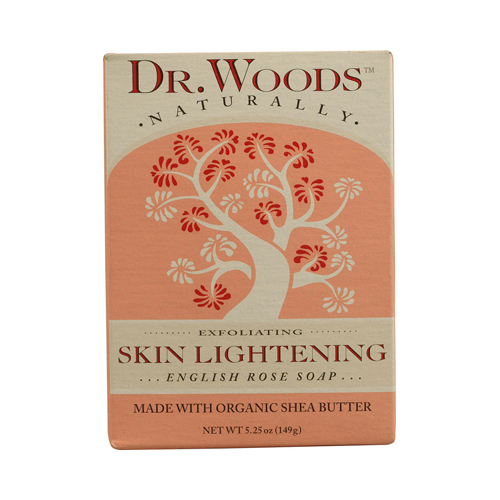 Dr. Woods Bar Soap Skin Lightening English Rose (1x5.25 Oz)