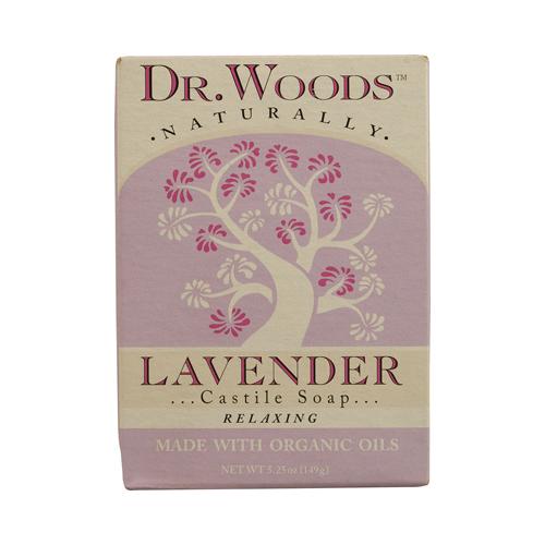 Dr. Woods Castile Bar Soap Lavender (1x5.25 Oz)