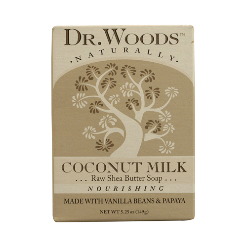 Dr. Woods Bar Soap Coconut Milk (1x5.25 Oz)