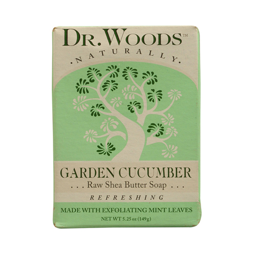 Dr. Woods Bar Soap Garden Cucumber (1x5.25 Oz)