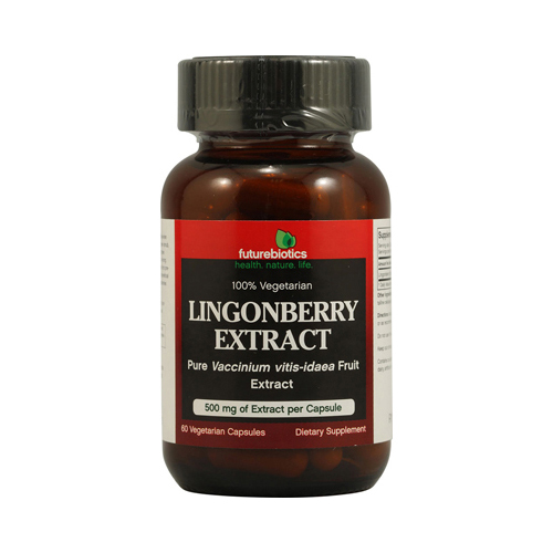 FutureBiotics Lingonberry Extract 500 mg (60 Veg Capsules)