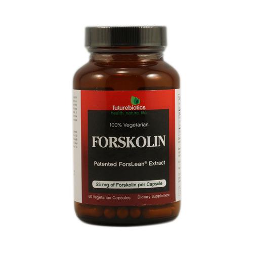 FutureBiotics Forskolin 25 mg (60 Veg Capsules)