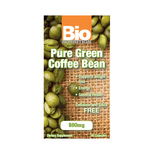 Bio Nutrition Pure Green Coffee Bean (1x50 Gelcaps)