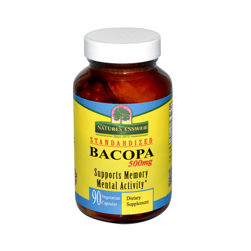 Nature's Answer Bacopa 500 mg (1x90 Veggie Caps)