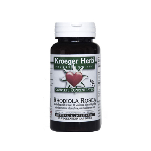 Kroeger Herb Rhodiola Rosea (90 Vcaps)