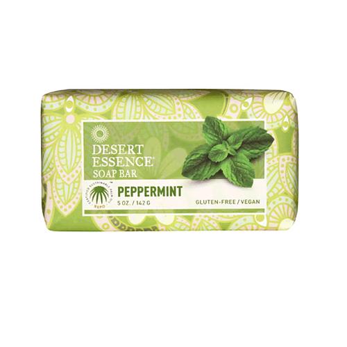 Desert Essence Bar Soap Peppermint (1x5 Oz)