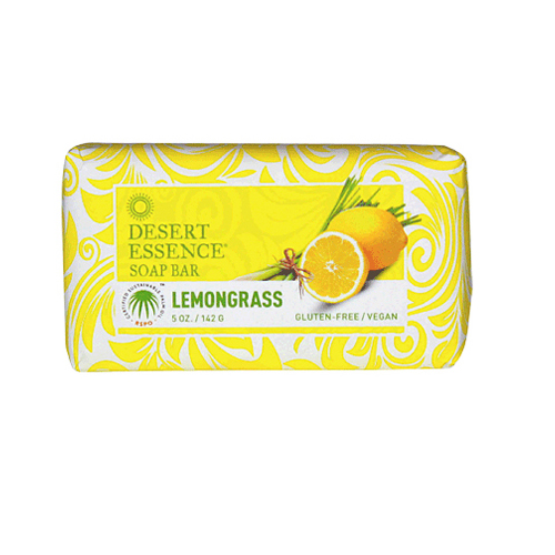 Desert Essence Bar Soap Lemongrass (1x5 Oz)