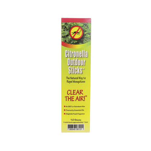 Neem Aura Naturals Outdoor Citronella Sticks 10 count (18 Pack)