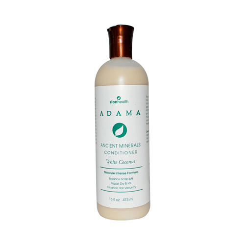 Zion Health Adama Minerals Anti Frizz Conditioner White Coconut (16 fl Oz)