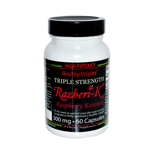 Healthy Origins Raspberry Ketones 300 mg (1x60 Ct)