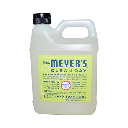 Meyers Lemon Vervena Liquid Hand Soap Refill (1x33 Oz)