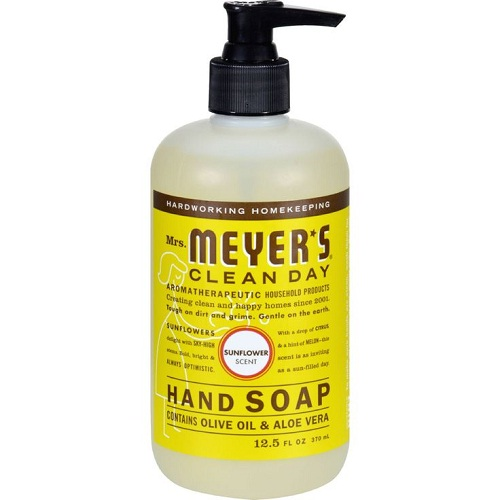 Mrs. Meyer's Liquid Hand Soap Sunflower (6 x12.5 fl Oz)