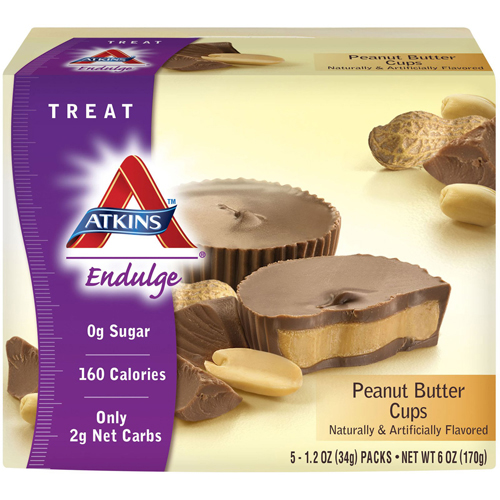 Atkins Endulge Bars Chocolate Peanut Butter Cups (1.2 Oz 5 ct)
