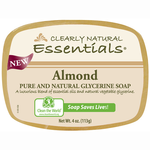 Clearly Natural Glycerin Bar Soap Almond (1x4 Oz)