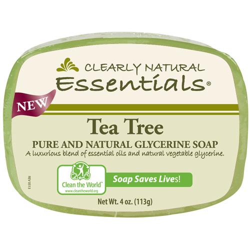 Clearly Natural Glycerin Bar Soap Tea Tree (1x4 Oz)