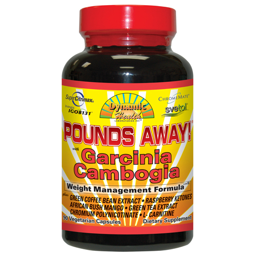 Dynamic Health Pounds Away Garcinia Cambogia (90 Veg Capsules)