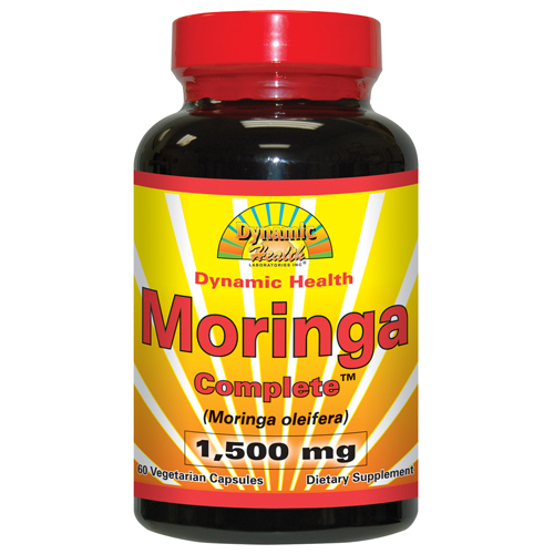 Dynamic Health Moringa Complete 1500 mg (60 Veg Capsules)