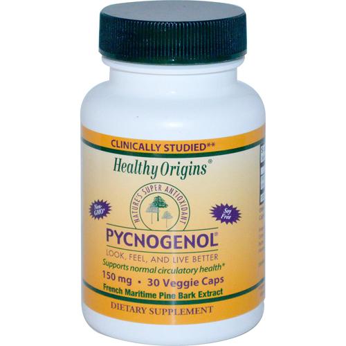 Healthy Origins Pycnogenol 150 mg (30 Veg Capsules)
