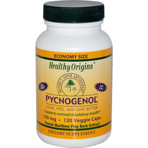 Healthy Origins Pycnogenol 150 mg (120 Veg Capsules)