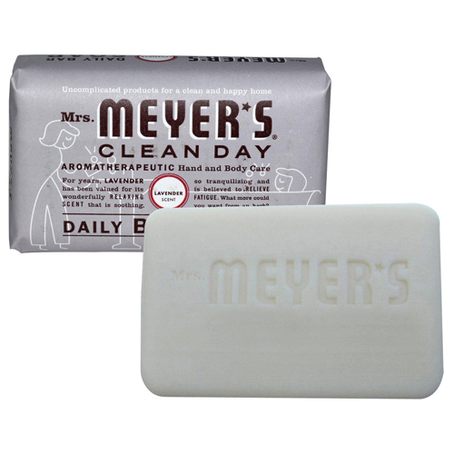 Mrs. Meyer's Bar Soap Lavender (12x5.3 Oz)