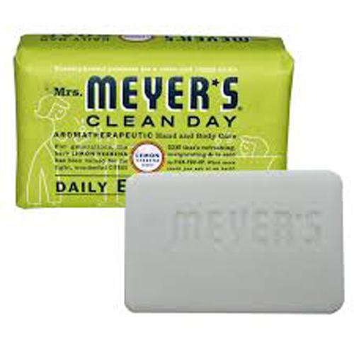 Mrs. Meyer's Bar Soap Lemon Verbena 5.3 Oz
