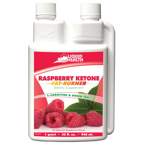 Liquid Health Products Raspberry Ketone Fat Burner GF 32 Oz