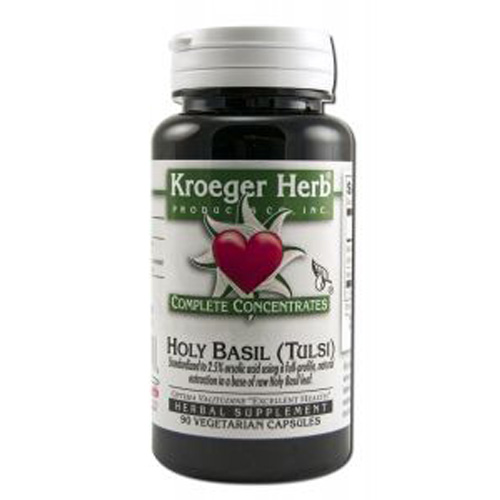 Kroeger Herb Holy Basil Complete Concentrate (90 Veg Capsules)