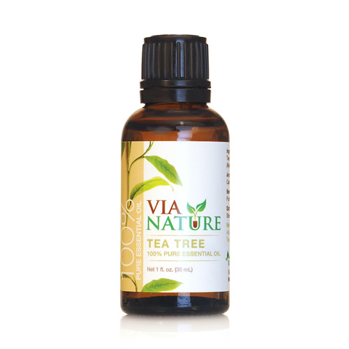 Via Nature Essential Oil 100% Pure Tea Tree Single (1x1 fl Oz)