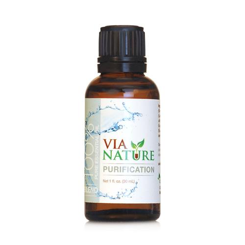 Via Nature Essential Oil Blend Purification (1x1 fl Oz)