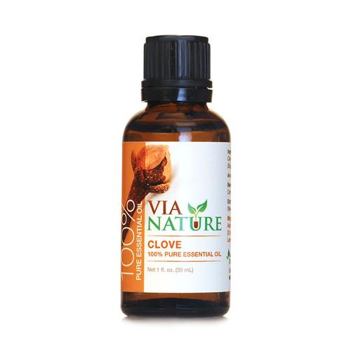 Via Nature Essential Oil 100% Pure Clove (1x1 fl Oz)