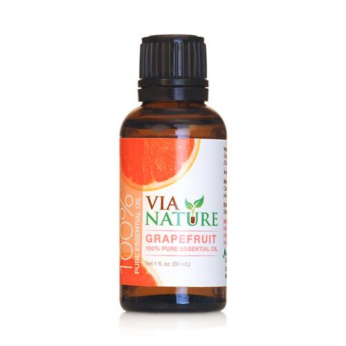 Via Nature Essential Oil 100% Pure Grapefruit (1x1 fl Oz)