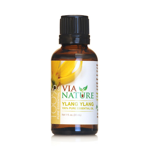 Via Nature Essential Oil 100% Pure Ylang Ylang (1x1 fl Oz)