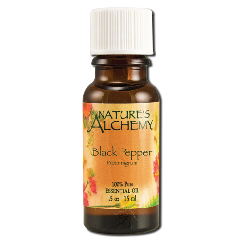 Nature's Alchemy Essential Oil Black Pepper .5 fl Oz