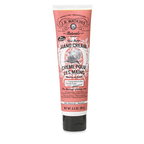 J.R. Watkins Hand Cream Pomegranate and Acai 3.3 Oz
