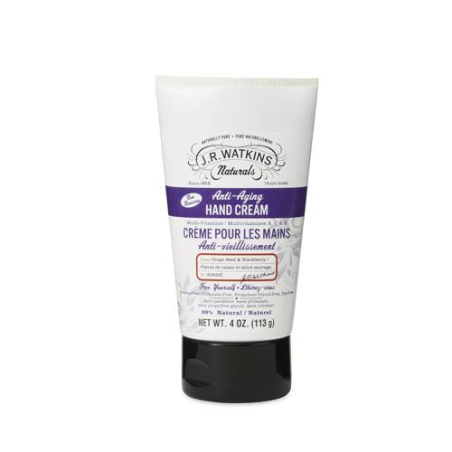 J.R. Watkins Hand Cream Anti Aging 4 Oz