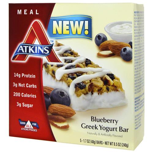 Atkins Advantage Bar Blueberry Greek Yogurt (6x 1.7 Oz )
