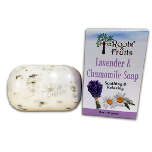 Roots and Fruits Bar Soap Lavender and Chamomile (1x5.0 Oz)