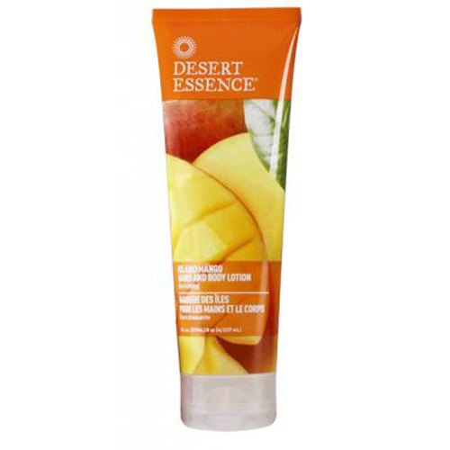 Desert Essence Hand and Body Lotion Island Mango (8 fl Oz)