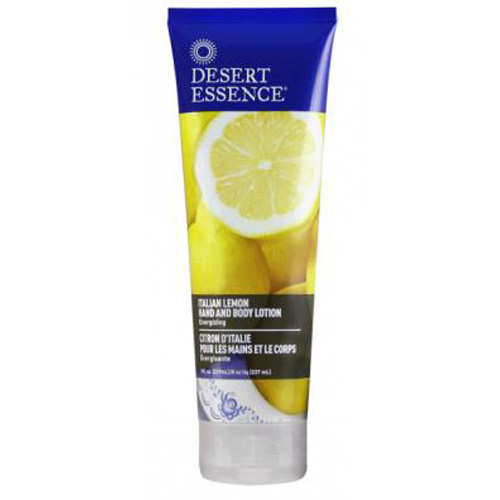 Desert Essence Hand and Body Lotion Italian Lemon (8 fl Oz)