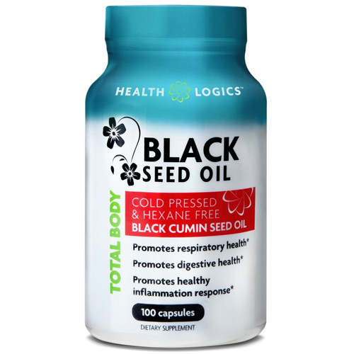 Health Logics Black Cumin Seed Oil (100 Softgels)