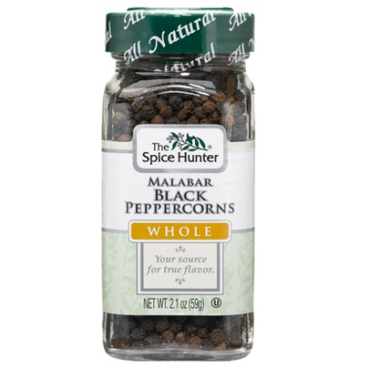 Spice Hunter Malabar Black PeppercornsWhole (6x2.1Oz)
