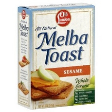 Old London Melba Toast Sesame (12x5Oz)