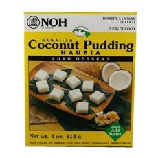 Noh Of Hawaii Hawaiian Coconut Pudding (6x4Oz)