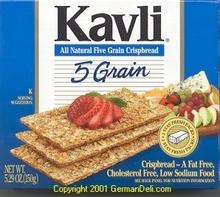 Kavli 5 Grain Crispbread (12x5.29 Oz)