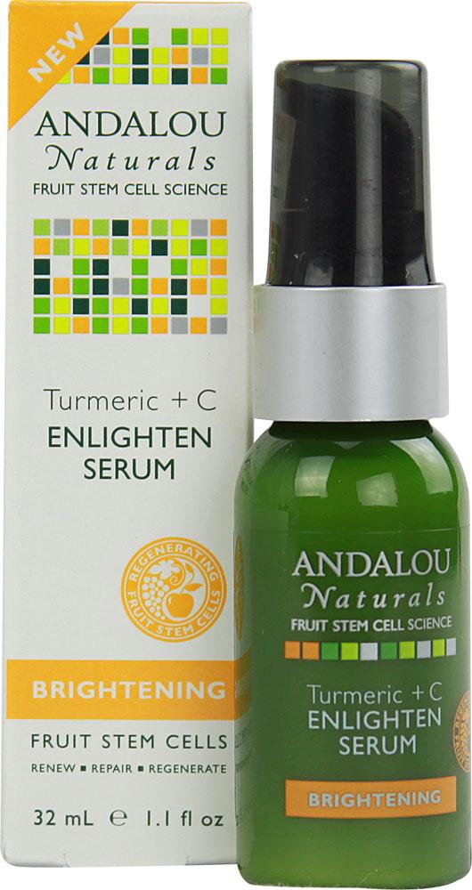 Andalou Naturals Turmeric+C Enlighten Serum (1x1.1 Oz)